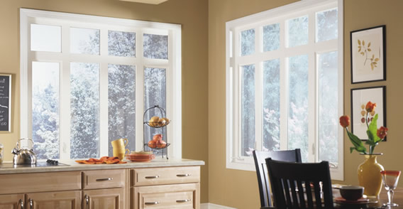 Thornton Vinyl Windows - Carlson Siding